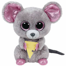 Ty Beanie Boos Glubschi Glubschis Mouse With Cheese Squeaker 15 Cm