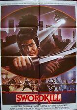 GHOST WARRIOR one sheet movie poster 27x41 SAMURAI 1986