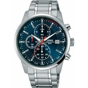 *Lorus Gents Chronograph Stainless Steel Watch - RM327DX9 LNP