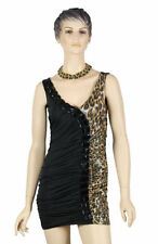 Polyester Animal Print Stretch, Bodycon Hand-wash Only Dresses for Women