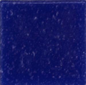 Dark Blue Vitreous Glass Mosaic Tiles - 25 Tiles - 3/4 inch
