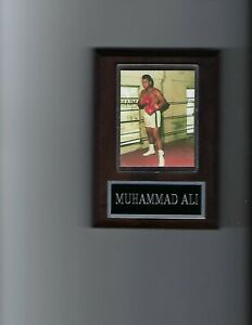 MUHAMMAD ALI PLAQUE BOXING CHAMPION