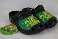 Spot On Boys Green Ninja Turtles Slippers R19B