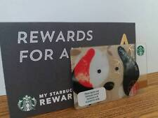 Starbucks Card 2018 Year of the Dog Gift Card  with sleeve Thailand