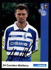 Carsten Wolters MSV Duisburg 2000-01 2. SCHEDA + + a 70471