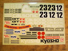 OR-54 Decal Sheet - Kyosho Nissan Skyline GT-R Optima Mid  / Lazer Scale Cars