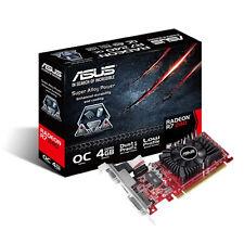 New Genuine Asus AMD Radeon R7-240 4 Go Carte graphique-noir/rouge