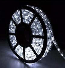 100FT Cold White LED Rope Light Home Party Wedding Decor In/Outdoor Patio
