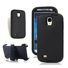Samsung Galaxy S4, Defender Outer Case Screen Protector & Clip Fit Otterbox Bk