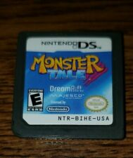 Monster Tale Nintendo DS Tested Working RARE 3DS Majesco