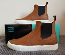 Nike Zoom SB Stefan Janoski Slip Mid RM - UK Size 8.5 - BQ5888 200 - Brown/Black