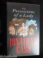 SIGNED - JONATHAN GASH - The Possessions of a Lady (1996-1st) Lovejoy Novel 19