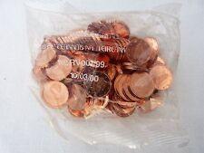 2002 un Irlandese 1 Euro cent x100 Banca Centrale SIGILLATO Borsa Pack in EIRE RARE BU UNC!
