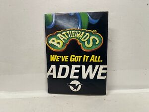 Battletoads NES Tradewest Poster INSERT ONLY Authentic