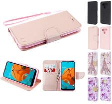 for LG Stylo 6 Flip Jacket Wallet Accessory Hybrid Case Cover+PryTool