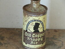 OLD TOPPER. SNAPPY ALE. SOLID.  COLORFUL.  IRTP. CONE. TOP