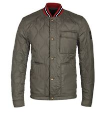 Belstaff Haverford Stripe Trimmed Quilted Jacket RRP£450 Size 3XL