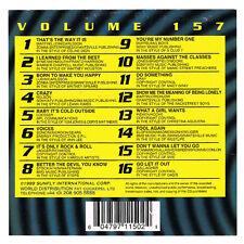 Sunfly Hits Volume 157 SF157 Karaoke CDG CD+G DISC CLEARANCE! Backing Track