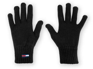 Damen Handschuhe Tommy Hilfiger Schwarz AW0AW10704-BDS