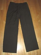 Versage Alias S.P.A.Green Wool Business Casual Pants Women's Italy 50 (L)  DA1