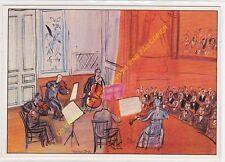 CP Postcard DUFY RAOUL Le concert orange