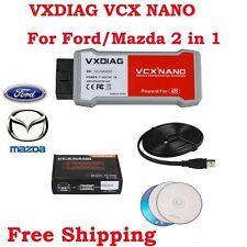 VXDIAG VCX NANO for Frod/Mazda 2 in 1 OBD2 Diagnostic Tool with IDS V106