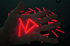 250ct DirectGlow 1.5 inch Red Mini Glow Sticks