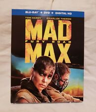 MAD MAX: FURY ROAD BLU-RAY/DVD/DIGITAL HD WITH SLIP COVER! TOM HARDY...BRAND NEW