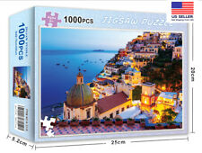 1000 piece jigsaw puzzles amalfi coast Italy For Education Games Adults Kid