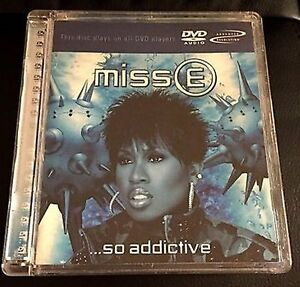 MISS E (ELLIOT) - SO ADDICTIVE - DVD AUDIO - NEW/SEALED - FREE UK POST