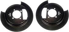 Brake Dust Shield Pair - Fits GM Models - Fits OE# 8893588, 88935987