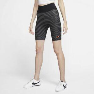 "Nike Sportswear Women's Bike Shorts CW4750-010 Sz S Inseam 8"" NWT"