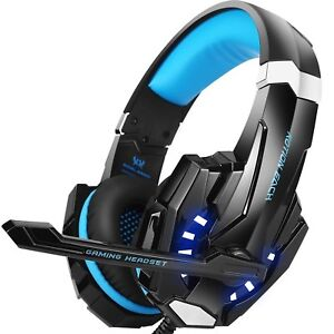 BENGOO G9000 Stereo Gaming Headset for PS4 PC Xbox One Controller Noise Cance...