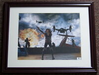 FLASH SALE! Milla Jovovich Signed Autographed 11x14 Photo Global GA GV GAI COA!