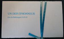 Un Défi d'Honneur – Live In Heldrungen CD [BOOTLEG INDUSTRIAL LJDLP NEOFOLK]