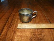Vintage Nursery Silverplate 58204 Child's Nursery Cup