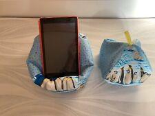 Penguin - Ipad, beanbag lap Cushion stand Ipad Tablet - Kindle holder stand