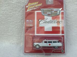 Johnny Lightning - 1959 Cadillac Ambulance - NEW LIMITED SPECIAL EDITION - MINT