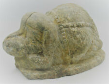 MUSEUM QUALITY ANCIENT NEAR EASTERN STONE STEATOPYGOUS IDOL. VERY RARE