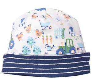 NEW Gymboree Baby Toddler Boys 12-18 mos Farm Cotton Beanie Hat