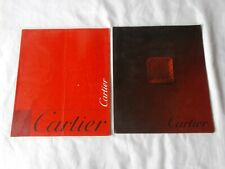 1998 and 2001 Cartier Catalog Watches Rings Jewelry ETC