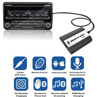 Wireless Bluetooth Hands-free USB Car AUX In Adapter Interface For Toyota Lexus