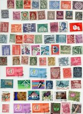 SWITZERLAND STAMPS 120 All Different - Off Paper