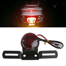 Motorcycle Bike Rear Tail License plate Brake Stop Number Plate Light Taillight