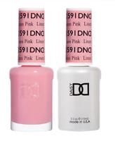 Daisy DND Duo GEL + MATCHING Nail Polish 591 Linen Pink