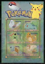 Dominica Pokemon Season'S Greetings 2000 Sheet Mint Nh