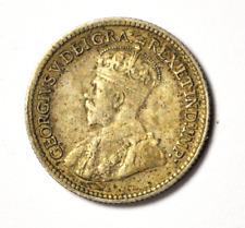 1920 5c Canada Silver Half Dime Five Cents Rare KM# 22a Rare