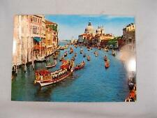 Venezia Venice Italy Regata Storica Historique Kodak Color Unused Postcard (O)