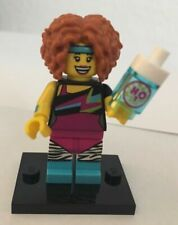 New LEGO MINIFIGURES Minifig Series 17 Dance Instructor w/ Water Bottle Genuine