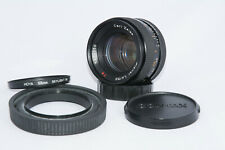 Carl Zeiss T* Planar 50mm f1.4 Contax/Yashica mount, recent service, caps, hood
